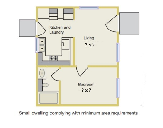 What Is The Minimum Size For A Habitable Room Per The 2015 IRC?