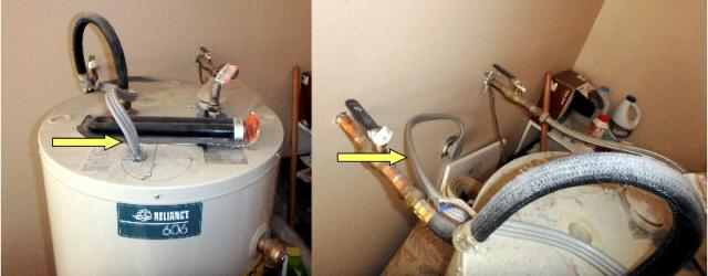 Plug and Play Water Heater